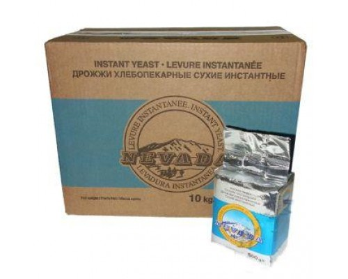 Дрожжи сухие инстантные «Невада»,  ящик 10 кг